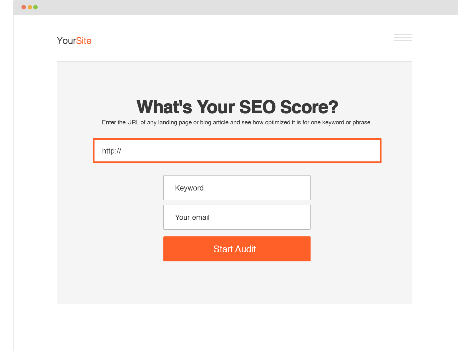 Free Website Audit Tool