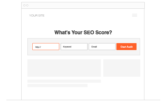 Embed Your SEO Audit Tool